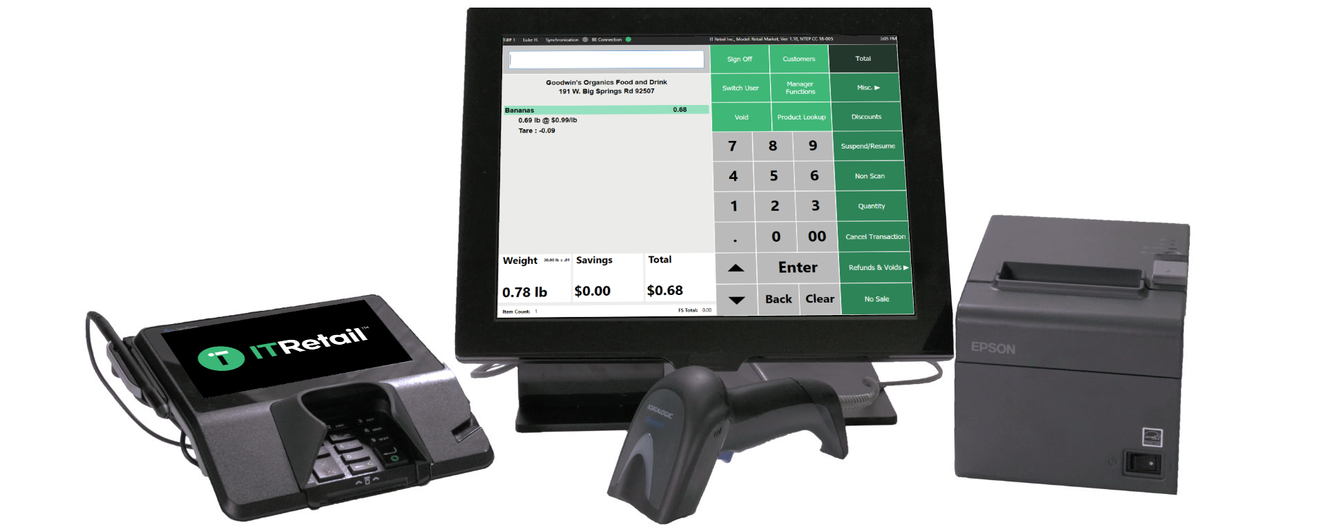 convenience store retail management software