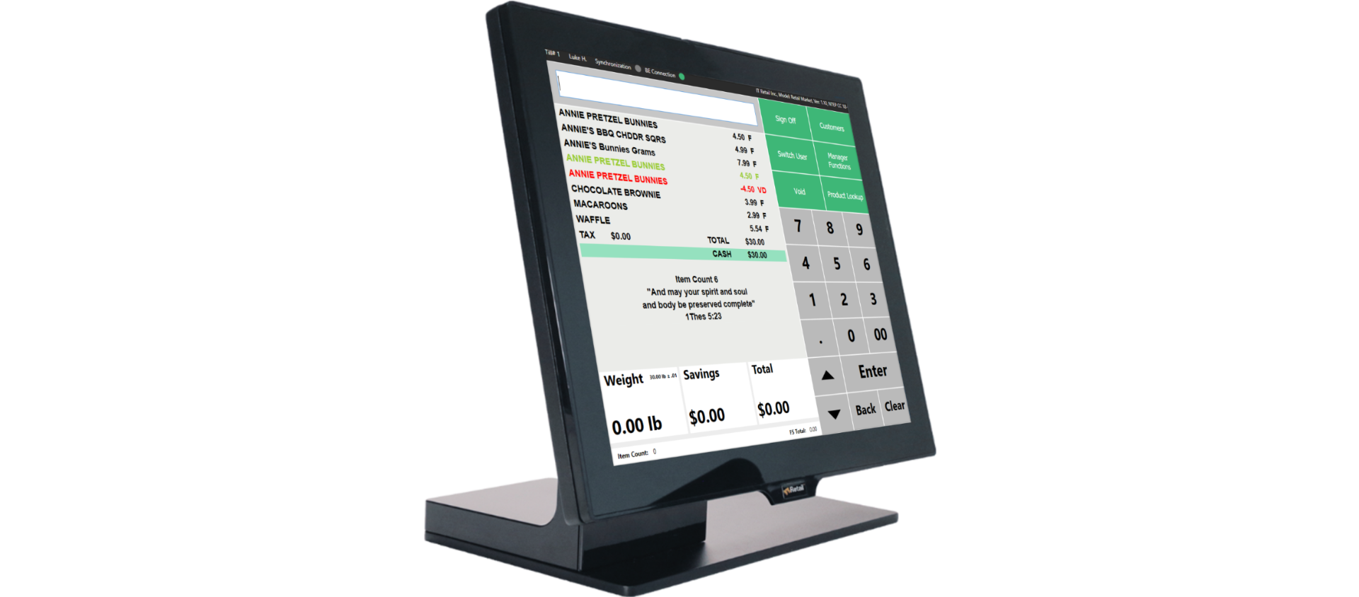 convenience store point of sale system
