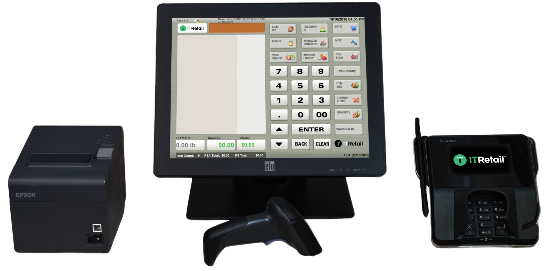 Supermarket Point of Sale System