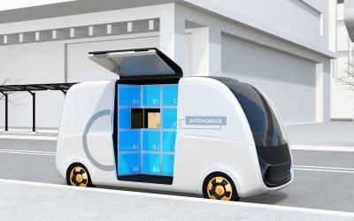 Driverless Car Grocery Delivery